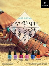 Jessica Cosmetics lansează Gypsy Spirit Collection
