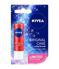 Descoperă ediția limitată sparkle NIVEA LIP CARE SPARKLE